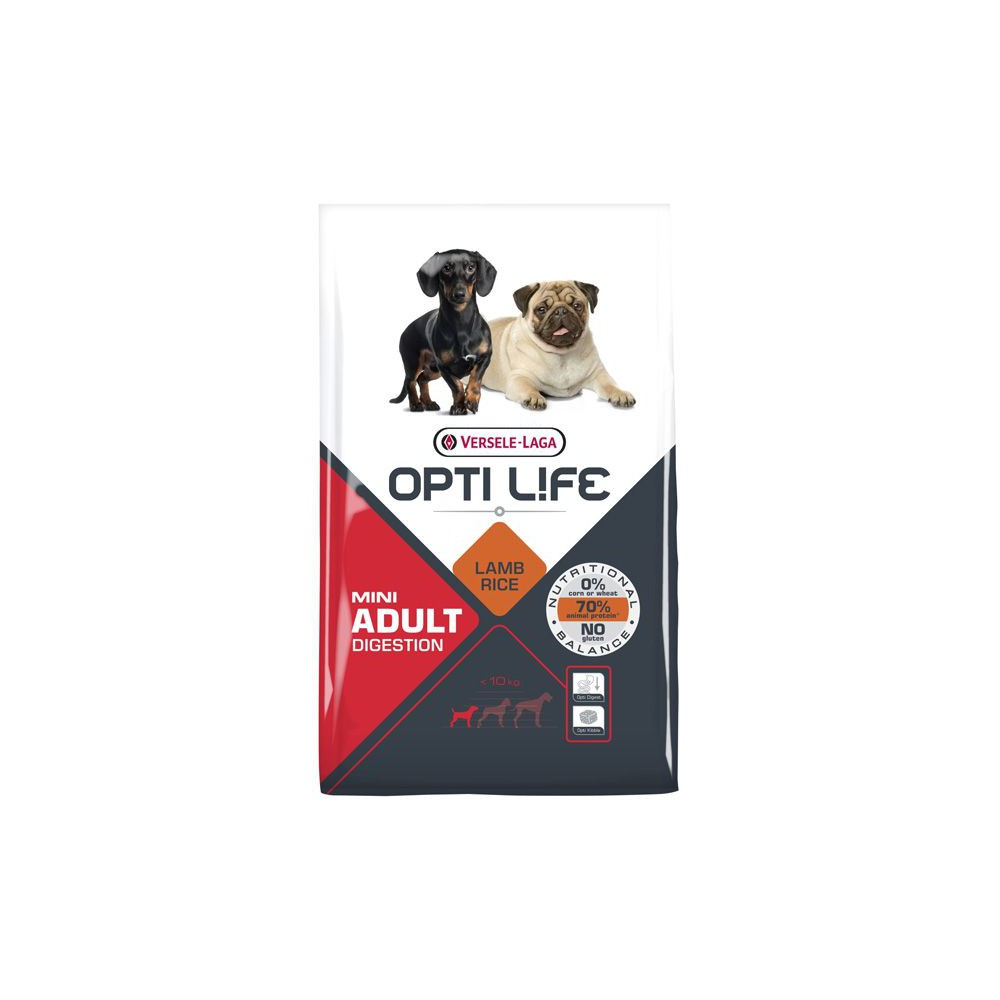 Pienso Opti Life Mini Adult Digestion 2.5kg