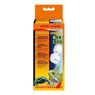 Sera Reptil Rainforest Compact 20 W UV-B 5 % (Bombilla para Reptiles)