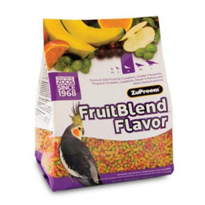 Pienso Zupreem Multifrutas de cotorras, ninfas y psitacidas (950g)