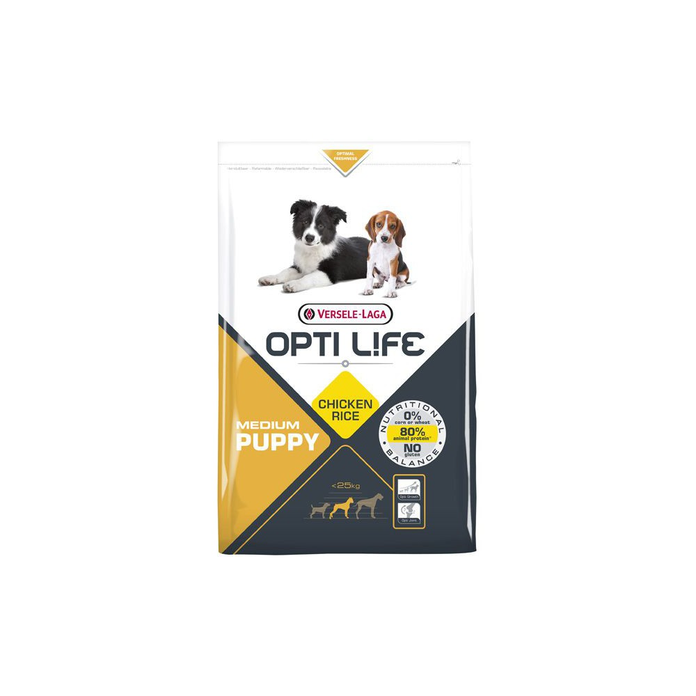 Pienso Opti Life Puppy Medium 2.5kg