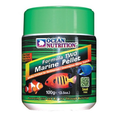 Ocean Nutrition Formula Two Marine Pellets, alimento granulado para peces marinos