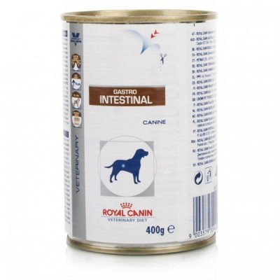 Royal Canin Vet Diet Gastro Intestinal Alimento humedo para perros en lata de 400 gr