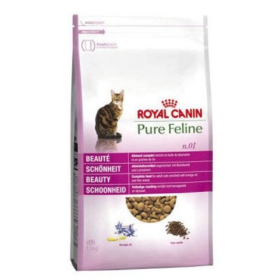Royal Canin Pure Feline Belleza Pienso seco para gatos adultos con Pavo 1.5 kg