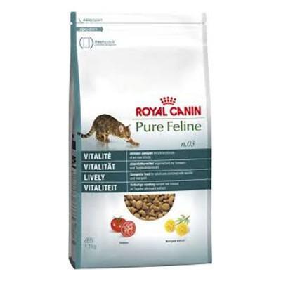 Royal Canin Pure Feline Vitalidad Pienso seco para gatos adultos con Pollo y Pescado 1.5 kg