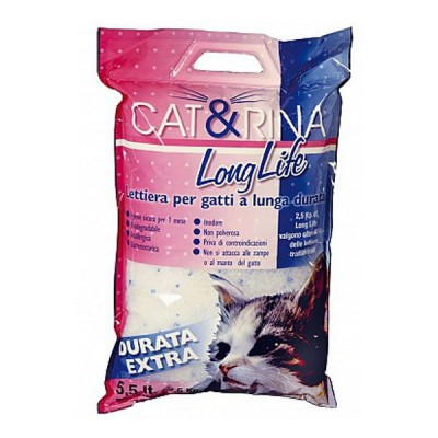 Record Cat&Rina Arena de Silice para Literas de Gatos 5,5 Lts