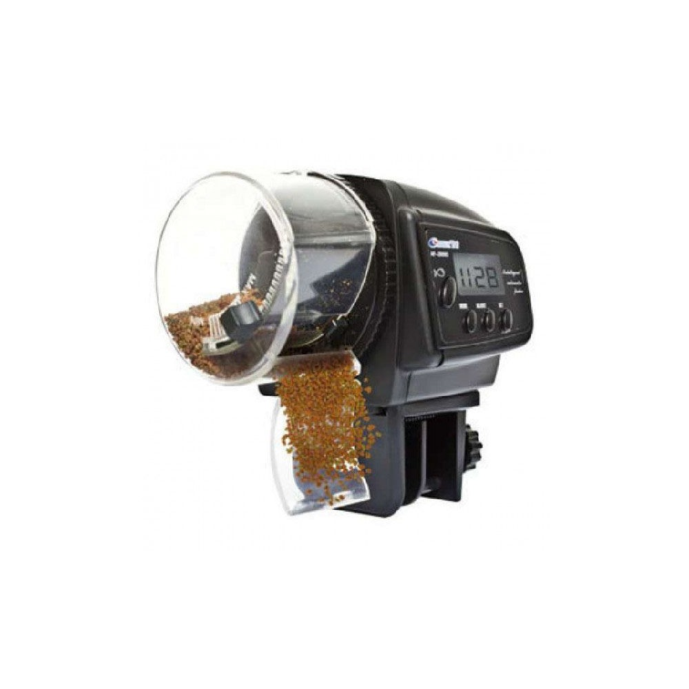 ICA Digitamatic Compact Alimentador Automatico Digital para peces