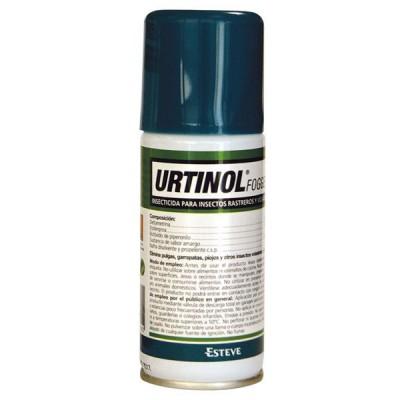 Esteve Urtinol Fogger Insecticida Aerosol Antiparasitario contra pulgas y Garrapatas de Descarga Total 100 ml