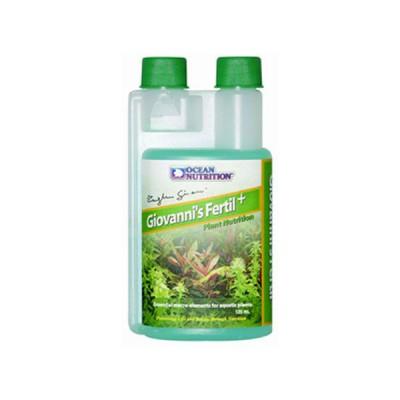 Abono Liquido Ocean Nutrition Giovanni's Fertil Macro Elementos para Plantas de Acuario 500 ml