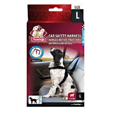 Flamingo Arnés de Seguridad de coche para perros