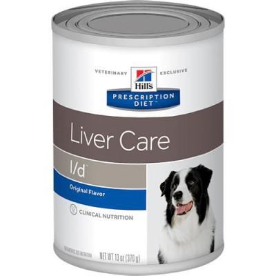 Hill´s Prescription Diet Canine L/D Hepatic Health Alimento humedo para perros en lata de 370 gr