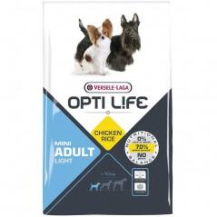 Pienso Opti Life Adult Light Mini 2,5 kg