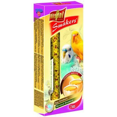 Barritas de Semillas con huevo para periquitos (2x40g)