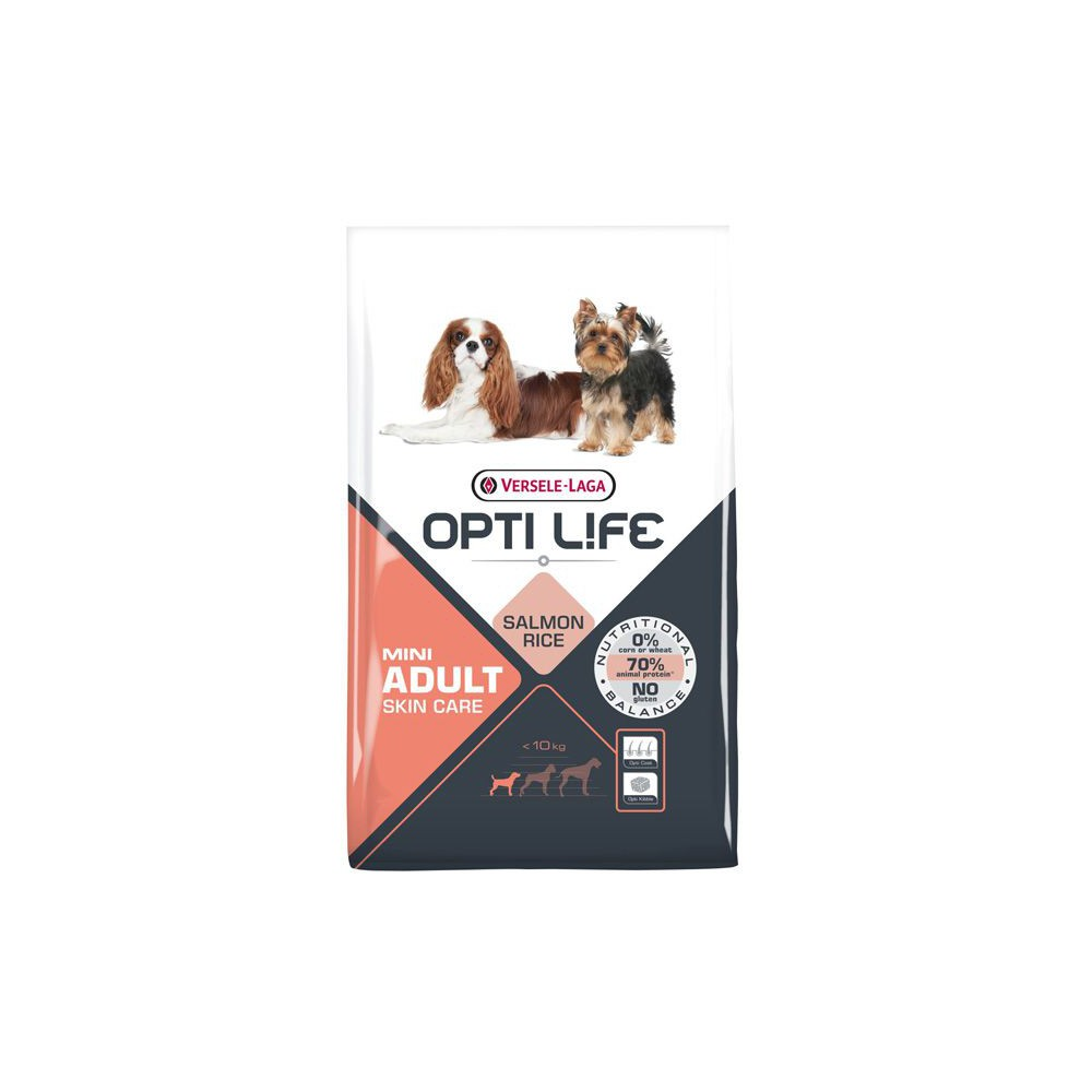 Pienso Opti Life Mini Salmón 2.5kg