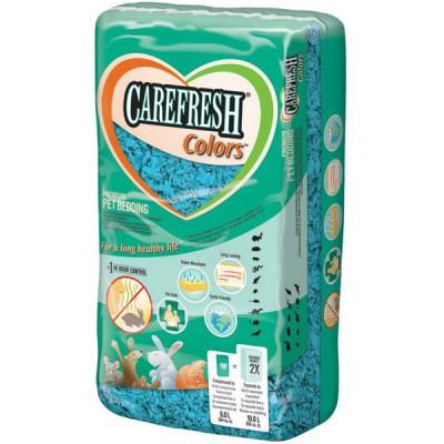 Lecho Carefresh de celulosa azul para roedores (10lts)